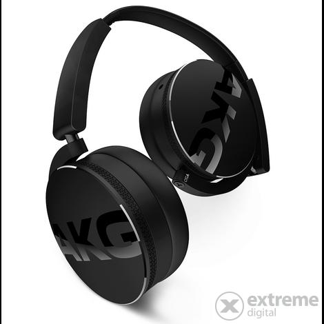 AKG Y50 fekete fejhallgató headset funkcióval  9c5aeb5ba3