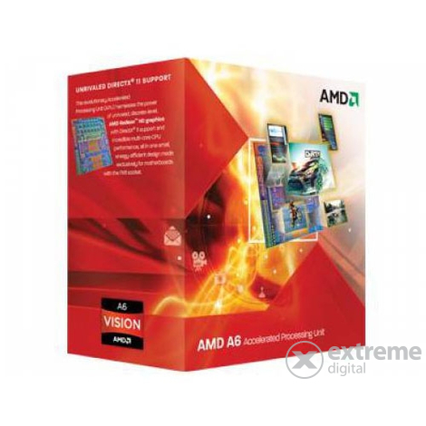 AMD FM1 A6-Series A6 X4 3650 BOX procesor