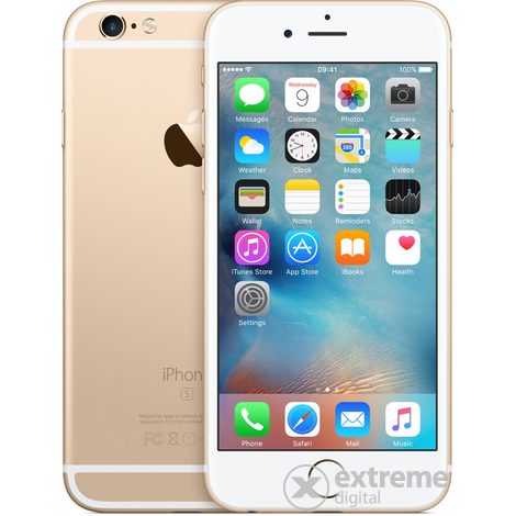Мобилен телефон Apple iPhone 6S 64GB, Златист