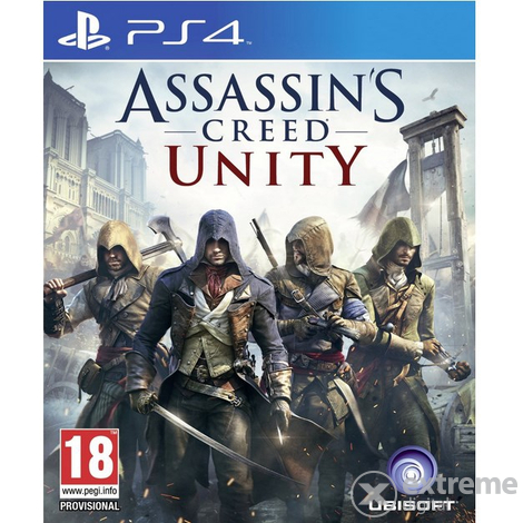 Игра Assassins Creed Unity за PS4