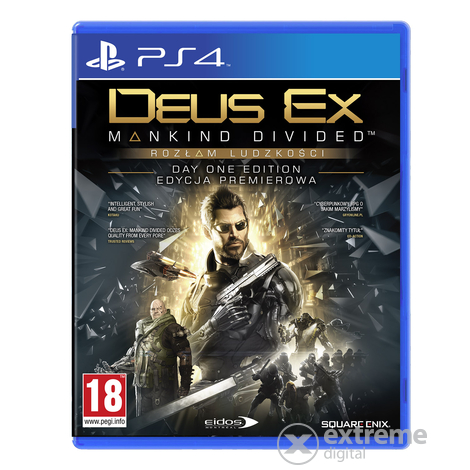 Deus Ex: Mankind Divided PS4 játék
