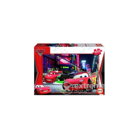 Educa Disney Cars 2 puzzle, 100 komada