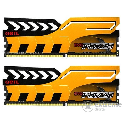 Geil Evo Forza Yellow DDR4 16GB 2400MHz CL16 KIT2 memória