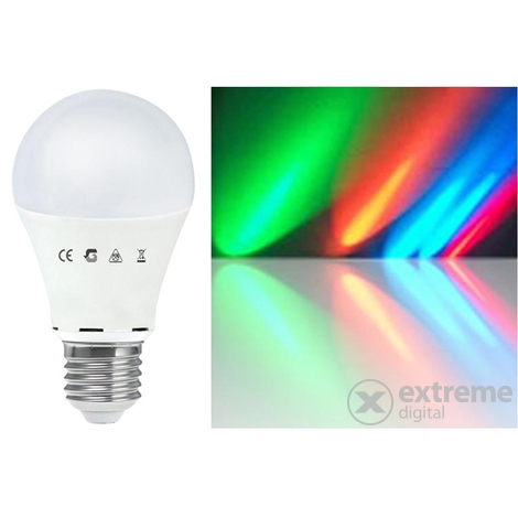 Led лампа Global A60RGB75WE27