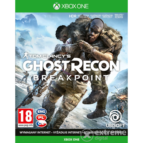 Tom Clancy`s Ghost Recon® Breakpoint Xbox One játékszoftver