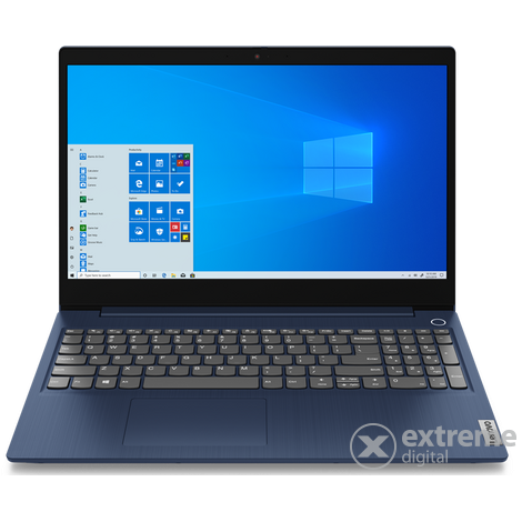 Lenovo IdeaPad 3-15IIL05 81WE008JHV notebook, kék