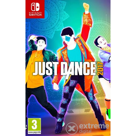 Just Dance Nintendo Switch játék