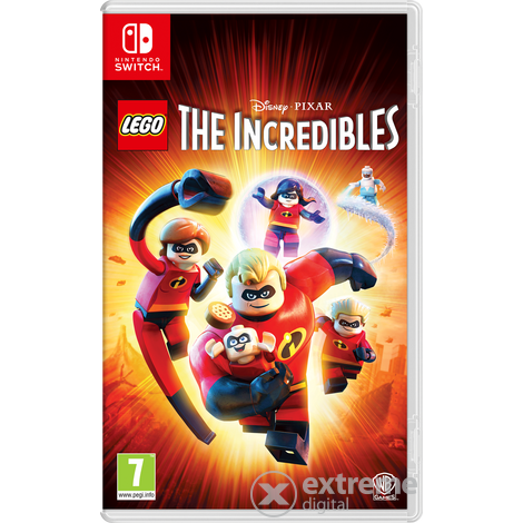 LEGO The Incredibles Nintendo Switch játékszoftver