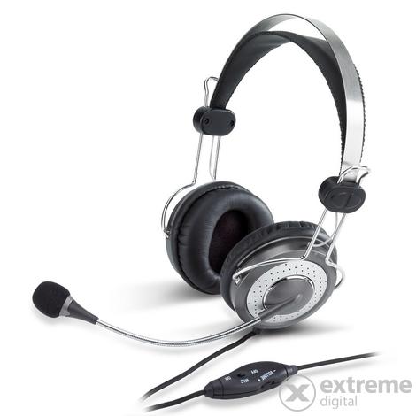 Genius HS 04SU mikrofonos fejhallgató   Extreme Digital