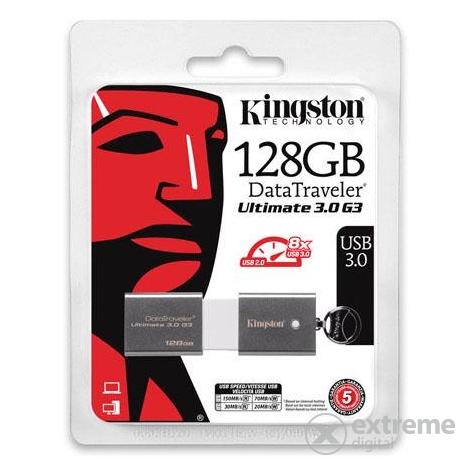 Kingston DataTraveler Ultimate 3.0 Generation 3 (DTU30G3) 128GB USB3.0 pendrive