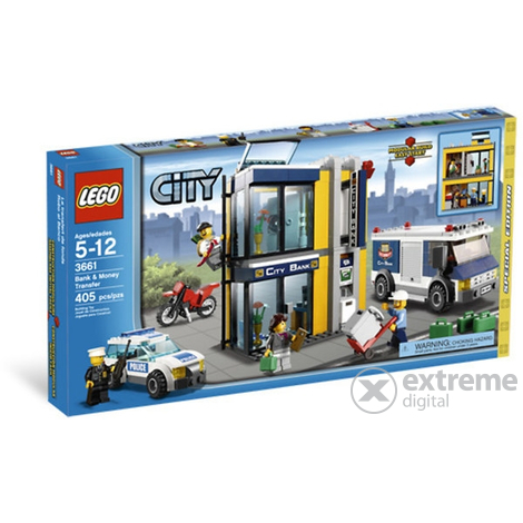 LEGO City - Bank and money transfer (3661)