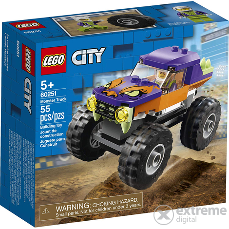 LEGO® City Great Vehicles 60251 Óriásteherautó