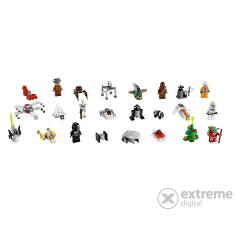 lego star wars adventi naptár 7958 LEGO Star Wars adventi naptár (7958) | Extreme Digital lego star wars adventi naptár 7958