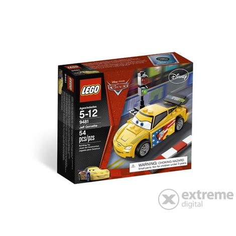 LEGO Cars - Jeff Gorvette (9481)