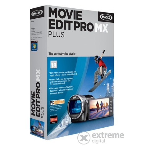 MAGIX Movie Edit Pro MX Plus softvér