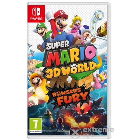 Nintendo Switch Super Mario 3D World + Bowser`s Fury játékszoftver