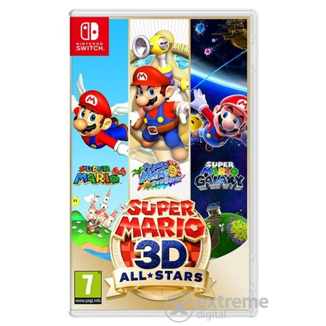 Nintendo Switch Super Mario 3D All Stars játékszoftver (NSS671)
