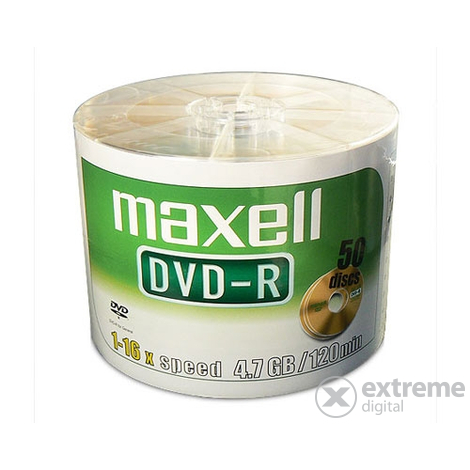 Disc DVD Maxell DVD-R 16x 4.7Gb 50buc.