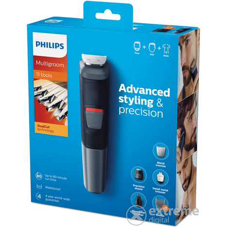 Aparat de tuns multifunctional Philips MG5730/15 Series 5000, 11 in 1