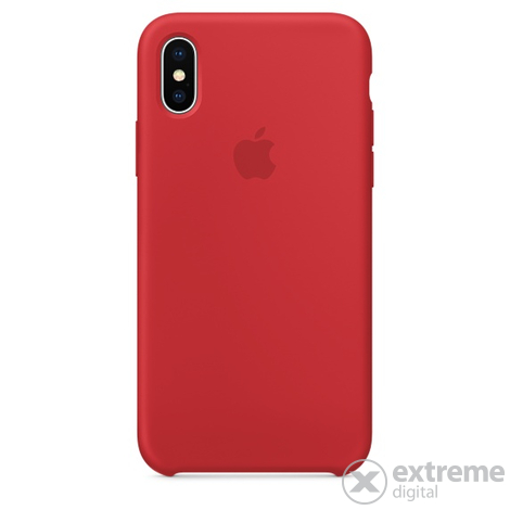 Apple iPhone X szilikon tok, (PRODUCT) RED (mqt52zm/a)
