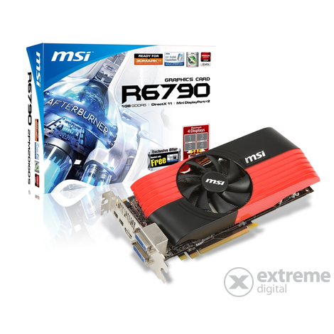 Placă video MSI HD6790 1TB, GDDR5 PCIe