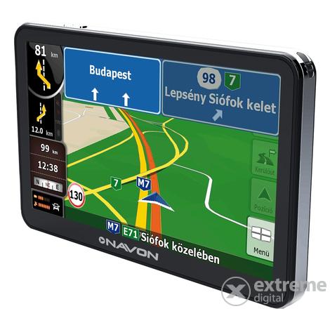gps magyarország térkép Navon N670 Plus navigáció + iGO8 Magyarország térkép | Extreme Digital gps magyarország térkép