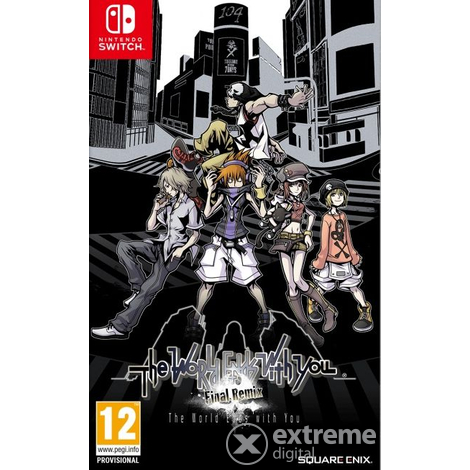 Nintendo Switch The World Ends with You: Final Remix játékszoftver