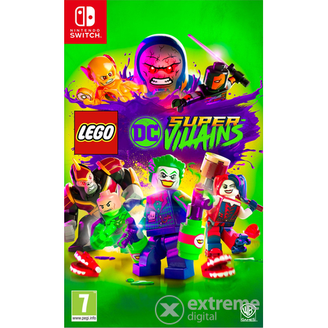 LEGO DC Super-Villains Nintendo Switch játékszoftver