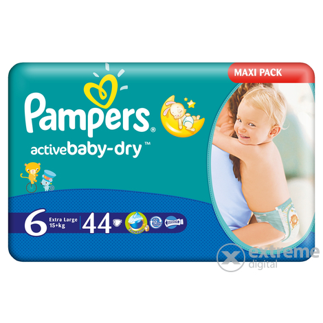 Pampers Active Baby pelene 6 44 komad
