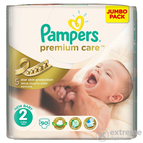 Pampers Premium Care pelene 2 mini 90 komad