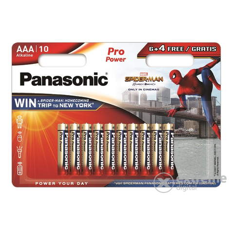 Panasonic Pro Power elemcsomag 10xAAA