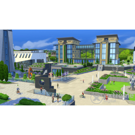 The Sims 4 Discover University Bundle PC játékszoftver