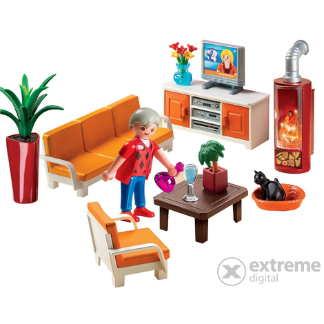 Playmobil living room 5332 extreme digital - Playmobil wohnzimmer 5332 ...