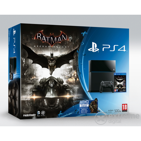 Sony PlayStation® PS4 500GB konzol Dualshock 4 kontroller + Batman Arkham Knight softverom