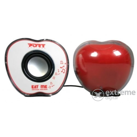 "Boxă PORT 180614 ""Eat Me"" AppleRed USB 2.0"
