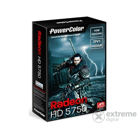 PowerColor AX5750 1GBD5-HV3 AMD 1GB  GDDR5 PCIe