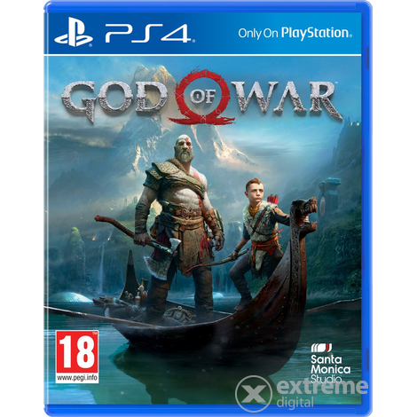 God of War PS4 játékszoftver
