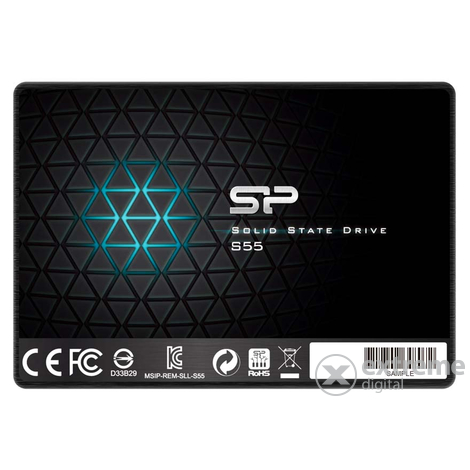 "Silicon Power S55 120GB 2,5"" SSD (SP120GBSS3S55S25)"