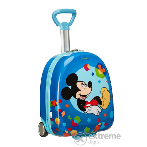 Детски твърд куфар Samsonite Disney Wonder Hard Upright 45 cm, Mickey Mouse