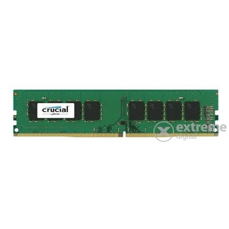 Crucial (CT8G4DFS824A) 8GB DDR4 2400MHz Single Rank CL17 1,2V memória