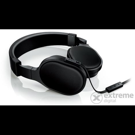 KEF M500 fejhallgató  fekete