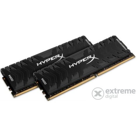 Kingston HyperX Predator 8GB DDR4 (kit 2x 4GB) 3200MHz CL16 DIMM memória - HX432C16PB3K2/8