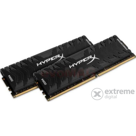 Kingston HyperX Predator 16GB DDR4 (kit 2x 8GB) 3333MHz CL16 DIMM memória - HX433C16PB3K2/16