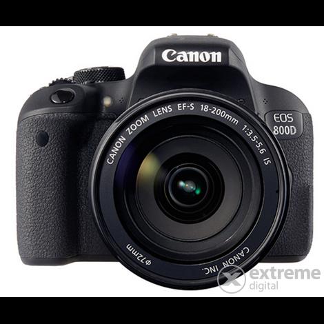 canon eos 800d fotoaparat kit 18 200 objektiv extreme. Black Bedroom Furniture Sets. Home Design Ideas