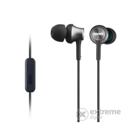 Sony MDREX450APH.CE7 headset headset za pametne telefone Android/iPhone, siv