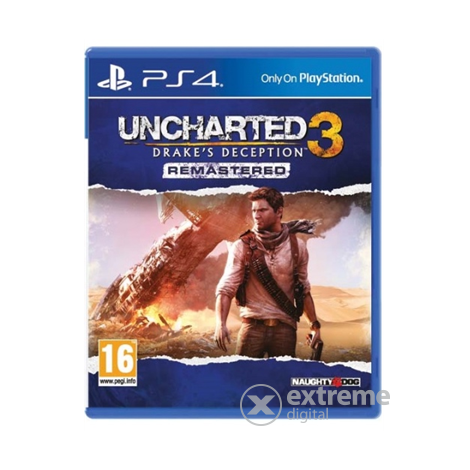 Uncharted 3: Drake`s Deception PS4 játék