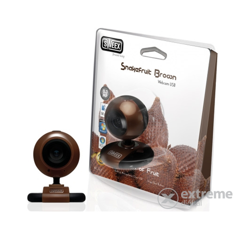 Cameră web Sweex Snakefruit Brown USB, maro