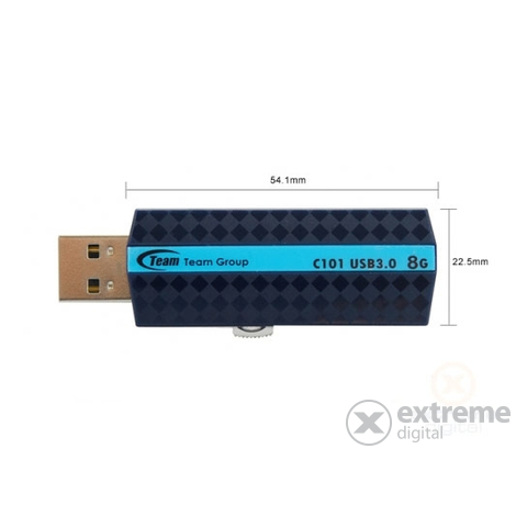 Pendrive Team C101 8GB, albastru