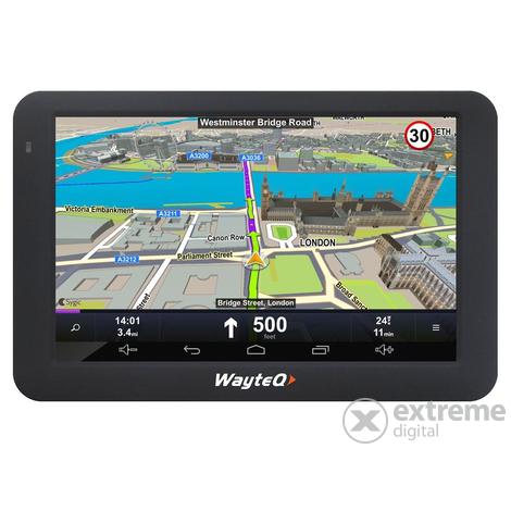 európa térkép gps re WayteQ X995 Android 5