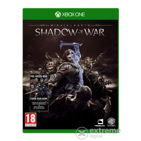 Warner Bros Interact Middle-Earth: Shadow Of War Xbox One játékszoftver